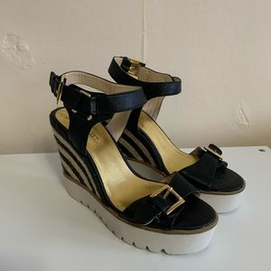 BRAND NEW Nine West Rubber Sole Wedges